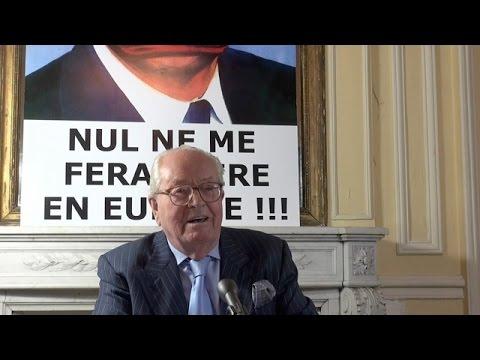 Conférence de presse de Jean-Marie Le Pen donnée le 20 novembre 2015