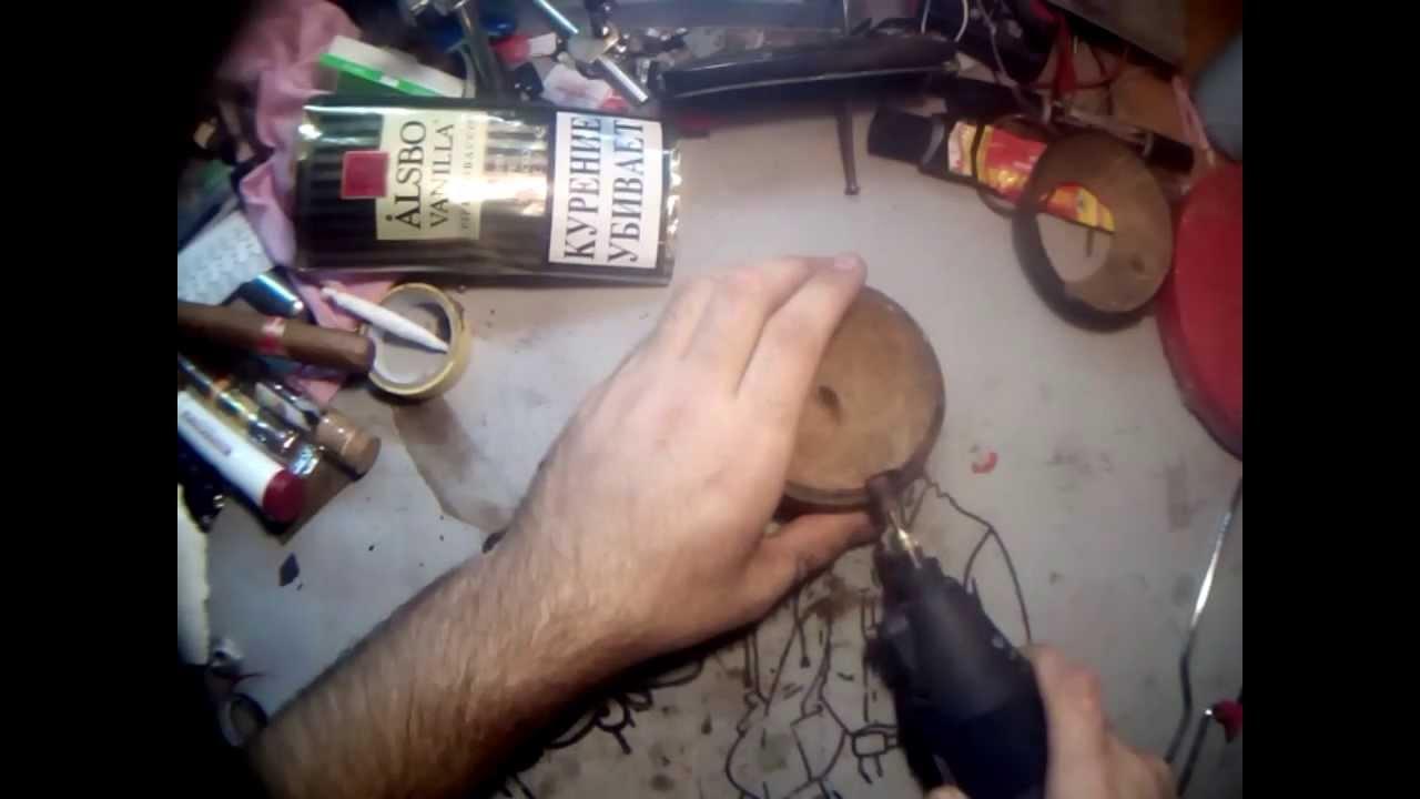 Как сделать пепельницу из дерева своими руками
