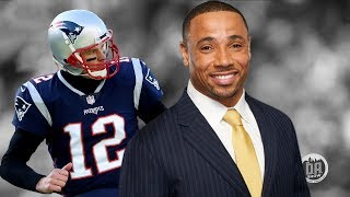 "NBC Sports Rodney Harrison on Patriots Home Playoff Success ""I Can't Explain It"""