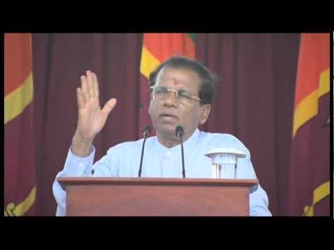 Sri Lanka: North and east have more problems than south - President