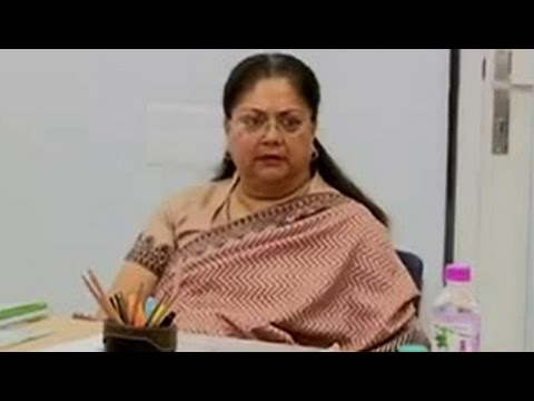 Yes, it's my signature, Vasundhara Raje reportedly admits to top BJP leaders