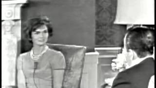 March 24, 1961 - New First Lady Jacqueline Kennedy interviewed by Sander Vanocur