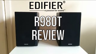 EDIFIER R980T Home Audio Speakers Review With Sound Test