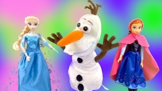 Disney Frozen Olaf Spinning Olaf Elsa Anna Disney Do You Want to Build a Snowman SuperFunReviews