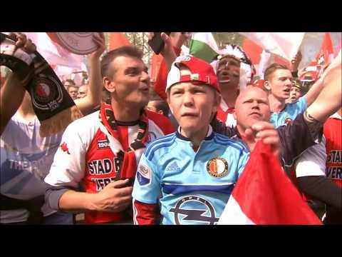 Lee Towers - Mijn Feyenoord - Huldiging Feyenoord Coolsingel 2017 - RTV Rijnmond