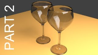 Blender Tutorial For Beginners_ Wine Glasses - 2 of 2
