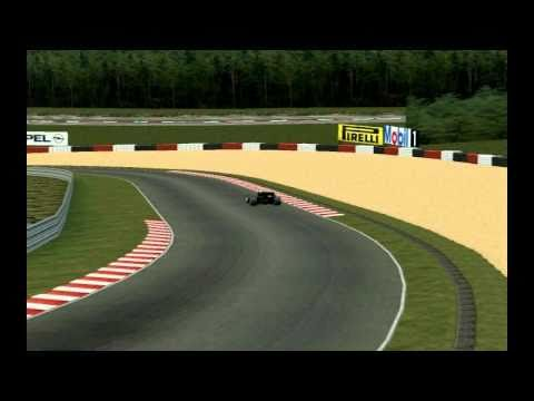 1 Lap in SPA Bel. with A.Senna and his Lotus 97T.