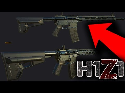 BRAND NEW AR-15 LEAKED! H1Z1 New Combat Update Leaks and Intel! (H1Z1 New Update)
