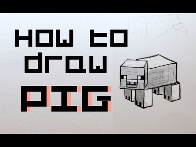 how to draw : a Minecraft Creeper on graph paper (page 2) - Vid Search