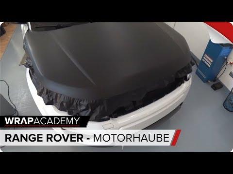 6 - MOTORHAUBE FOLIEREN - Range Rover Evoque