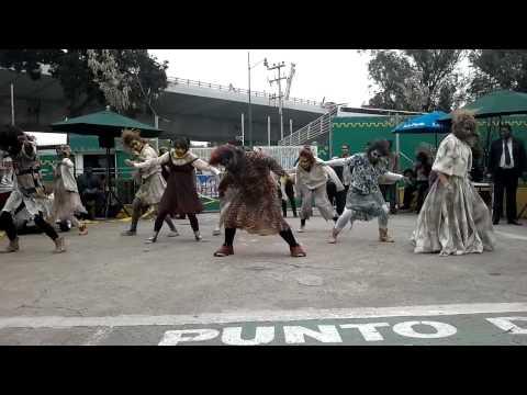 Invasion Zombie en La Feria de Chapultepec Terror Experience Starhips