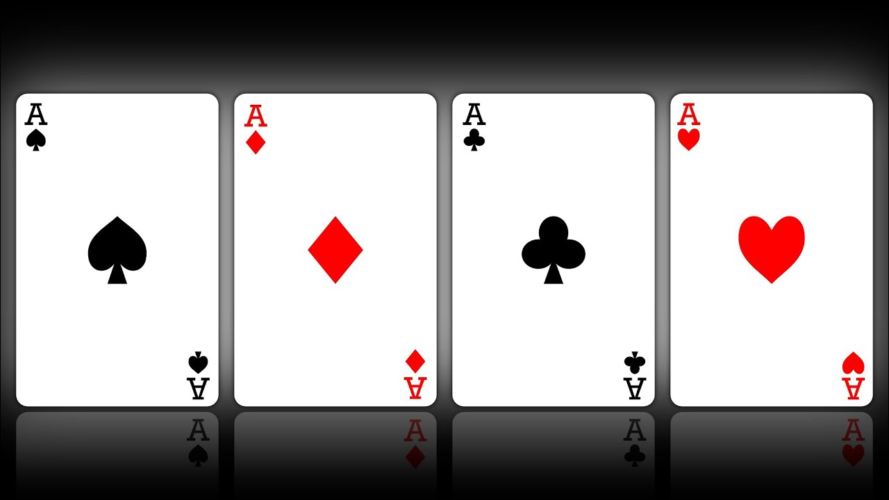 Playing Cards Outline Playing Cards Vector Graphic