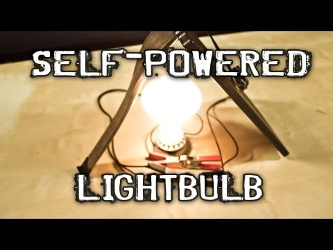SELF-POWERED LIGHT BULB!