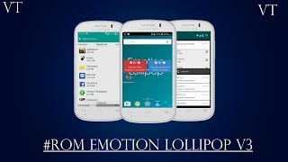 Review: Rom Emotion Lollipop V3 Alcatel One Touch Pop C3