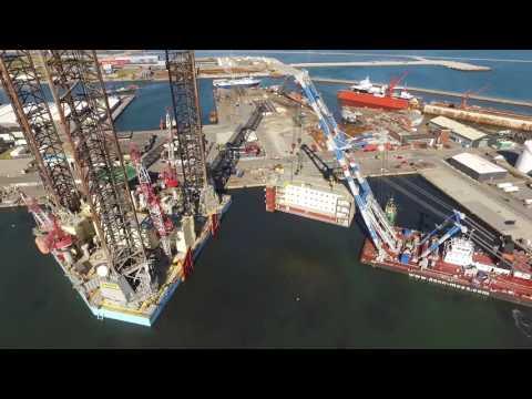 Maersk Guardian Accomodation Modules