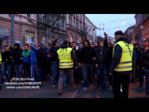 GFB Europe @ Plzen [Kortej - 07.03.2013] HD