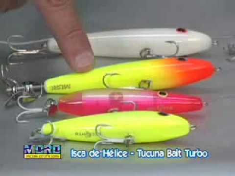 TOP DICAS Pesca Dinâmica - As melhores iscas artificiais para Tucunarés