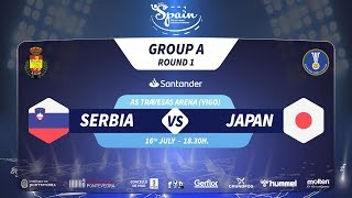 #Handtastic | PR - Group A | Serbia : Japan
