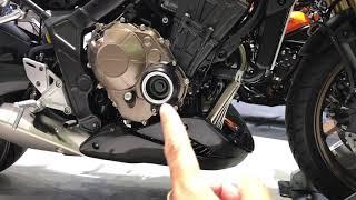Soi dàn đồ chơi của Honda CB650R Muscular
