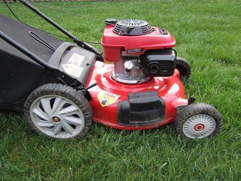 Troy Bilt Lawn Mower Honda GCV160 160CC OHC Engine - Craigslist Find - Part I - April 2. 2014
