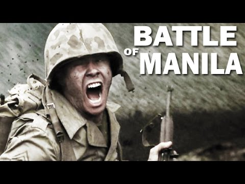 Battle of Manila | 1945 | Liberation of the Philippines by the US Army | WW2 Documentary Fim