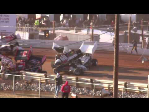 Lincoln Speedway 410 Sprint Car and Super Sportsman Highlights 3-29-15