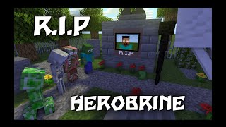 MONSTER SCHOOL : R.I.P Teacher Herobrine is DEAD!