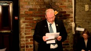 Humorous Epitaphs read by Derek Liddell 30 Oct 2013