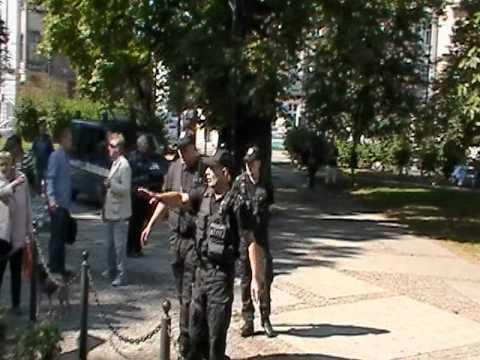20110917 Rozbicie Patriotycznego Wiecu Wyborczego W Katowicach Cz.2