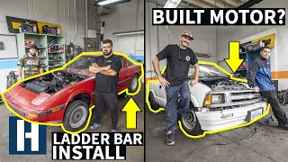 Build & Battle: Turbo or Nitrous? RX-7 Gets Ladder Bars, S10 Gets NOS EP.5