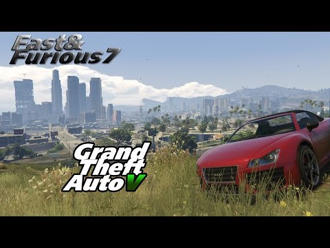 Fast and furious 7 for GTA V (RUS)