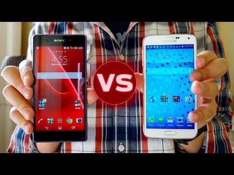 Xperia Z2 vs Galaxy S5