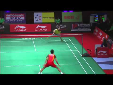 Group Stage - MS (Highlight) - Dionysius Hayom Rumbaka vs Parupalli Kashyap - 2013 Sudirman Cup
