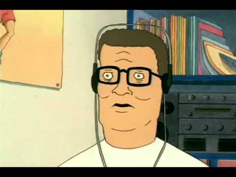 Hank Hill listens to Dubstep