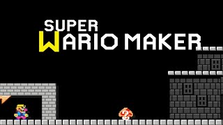 [Super Mario Maker] Super Wario Maker Gameplay