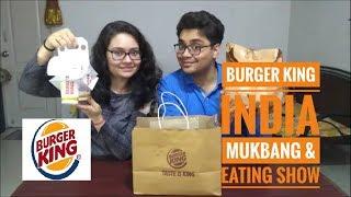 Burger King India   Mukbang & Eating Show