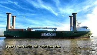 E Ship 1 DGFN2 IMO 9417141 Emden Rotorschiff Flettner Rotoren rotorsails Eship E Ship 1 seabound