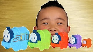 Thomas & Friends Nesting Engines Learn Colors And Numbers With Ckn Toys