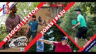 Disc Golf Pro Tour: The Jonesboro Open presented by Prodiscus - Round One