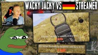 PUBG - Wackyjacky vs German Streamer - #Buddyclips 23 - Twitch Stream Highlight Deutsch
