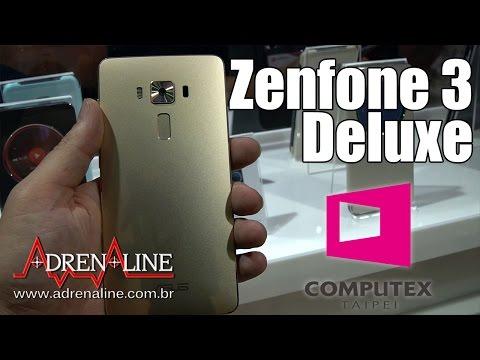 Zenfone 3 Deluxe: veja nosso hands-on do novo smartphone da Asus