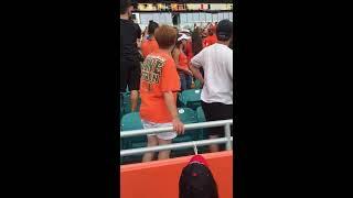 Clemson vs Miami Fan Fight