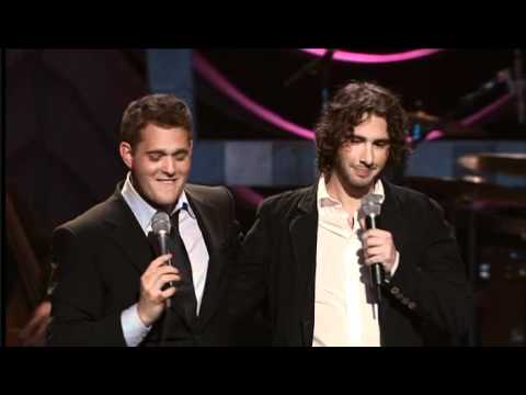 Michael Buble Vs. Josh Groban video