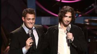 Michael Buble Video - Michael Buble vs. Josh Groban