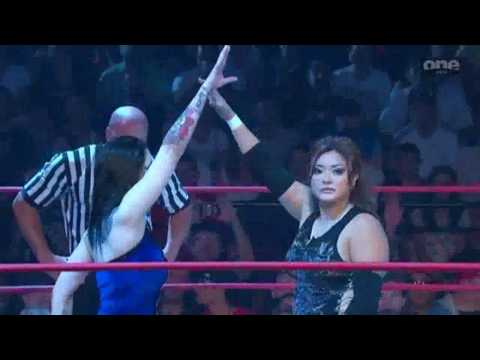 tna xPLOSION 8/11/2010 - Daffney vs. Hamada.