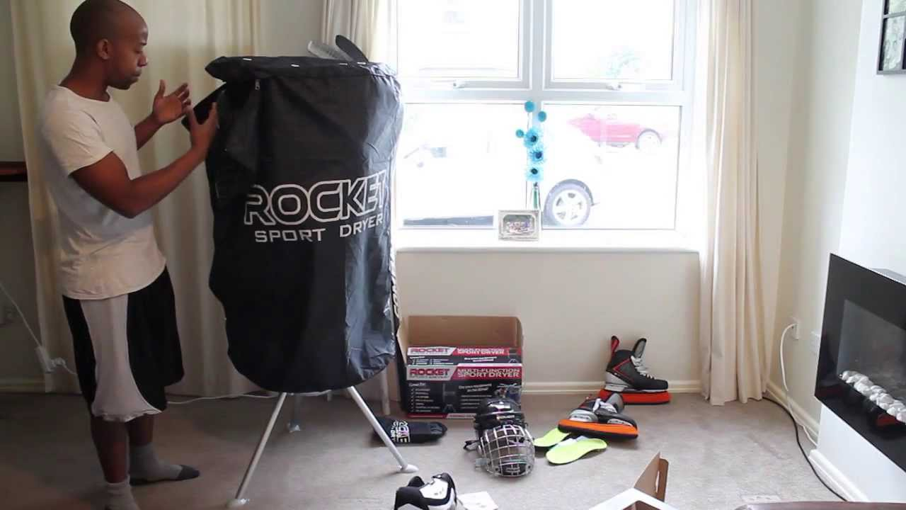 Rocket Ice Hockey Sports Heated Equipment Dryer Review