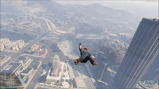 Grand Theft Auto 5 - Franklin Free Roam Gameplay (PC HD) [1080p]