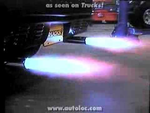 AutoLoc� Flame Thrower Kit in Action!