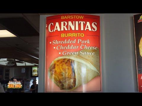 WE Shorts - Del Taco Barstow Carnitas Burrito