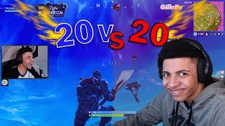NEW Game Mode 20V20 Funny Moments, INSANE Plays, & EPIC Fails! | Fortnite Highlights #10